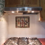 Homeowner, Brenda made decorative tiles