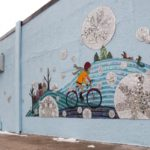 Sharra Frank. Bryant Ave Mural - South Minneapolis